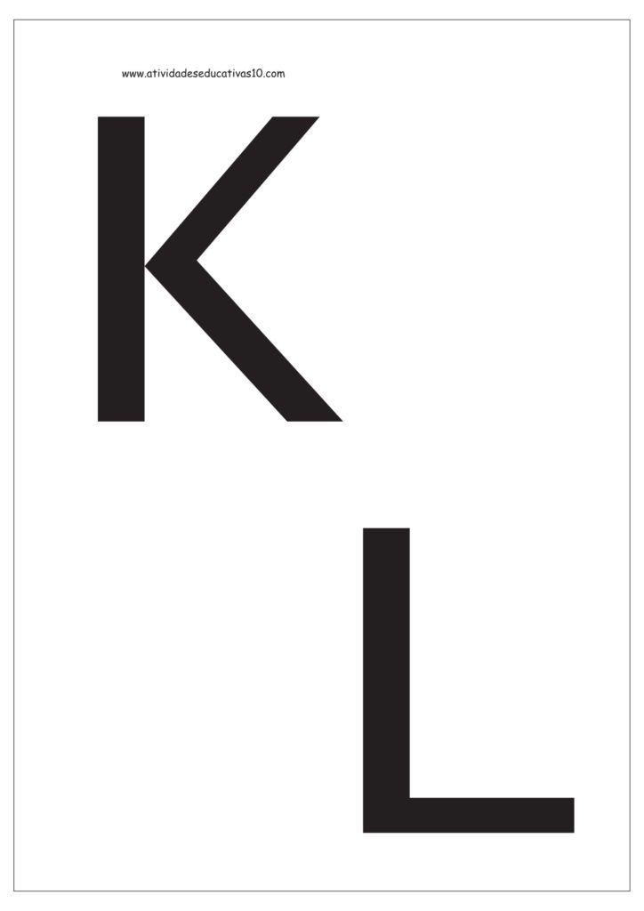 6 Letras Para Imprimir Moldes De Letras Letras Do Alfabeto