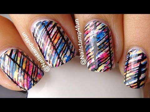 Splash of Color Cici&Sisi Plate 2 & 4 - YouTube