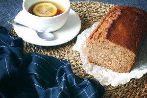 Plum cake integrale allo zucchero grezzo