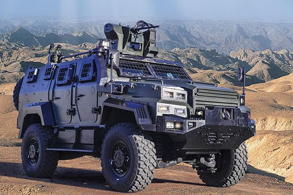 Ejder Yalçın is a 4x4 tactical armoured combat vehicle. Image courtesy of Nurol Makina. - Image - Army Technology
