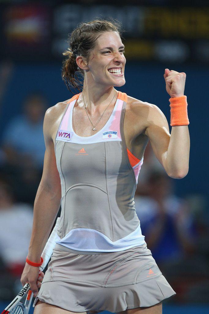 Andrea Petkovic at the 2014 Brisbane International