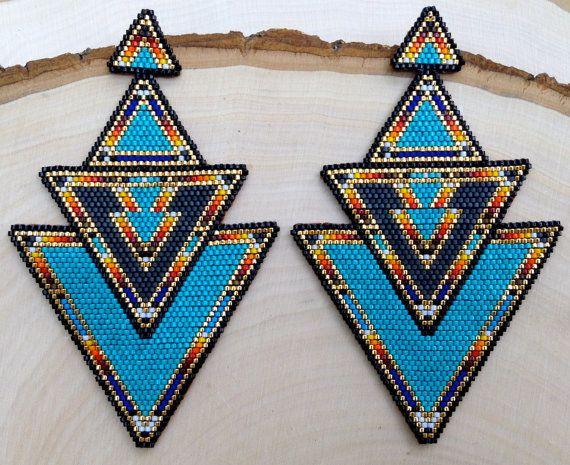 ONE-OF-A-KIND : Boucles d'oreilles Turquoise par wildmintjewelry