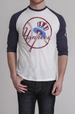 Wright and Ditson Yankees Raglan Shirt