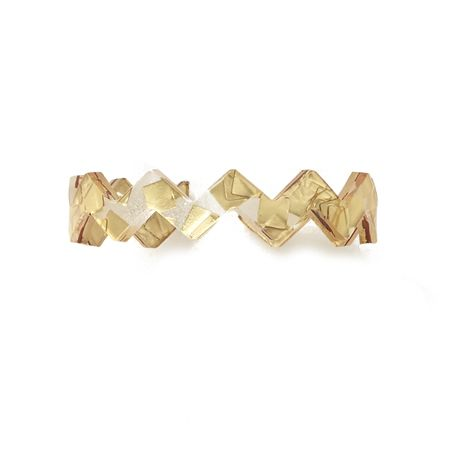Ziggy Cuff - gold sequins