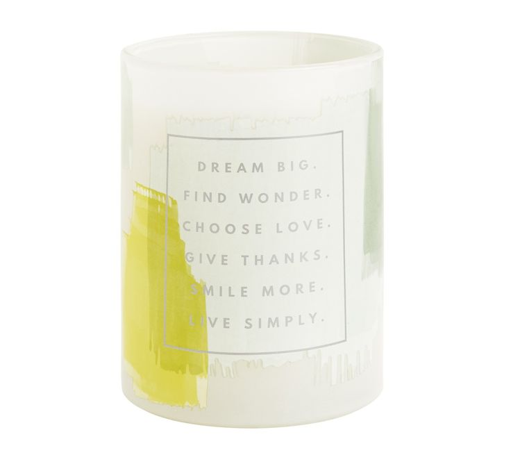 Be inspired to make time for you with the beauty and warmth of candle light and the scent of Magnolia. This stylish candle comes in a gorgeous gold foil printed box, making it perfect for gifting to someone special.