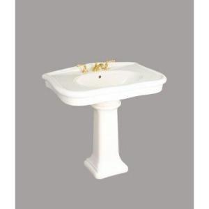 ... pedestal sink bathroom Pinterest St thomas, Pedestal and Ps