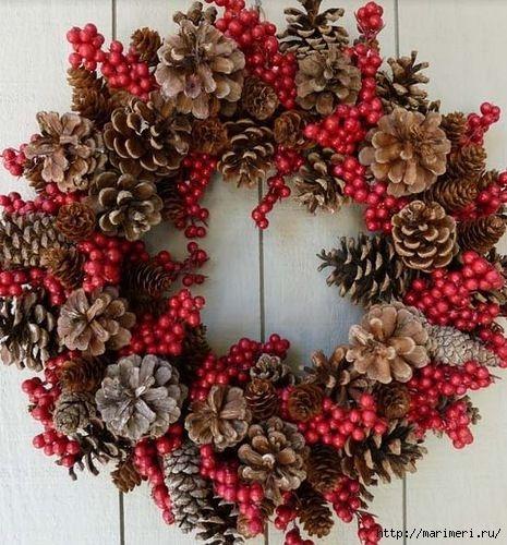 52 best Navidad piñas images on Pinterest Pine cone crafts, DIY - western christmas decorations