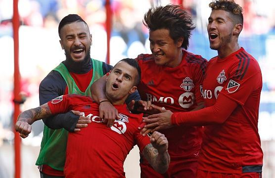 Sebastian Giovinco scores an absolute beauty for Toronto v NYCFC in 2-2 draw (Video)