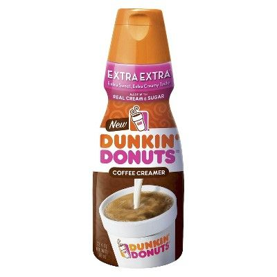 I spied with my Target eye: Dunkin Donuts Extra Extra Creamer 32oz, from the Weekly Ad http://weeklyad.target.com