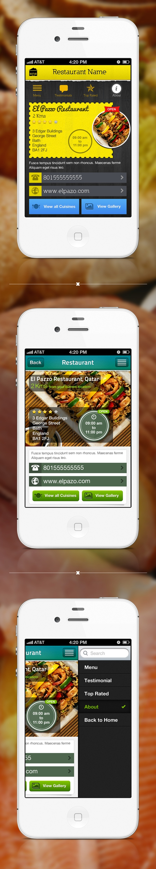 Life Style App- Suggestions by Rahul raj, via Behance