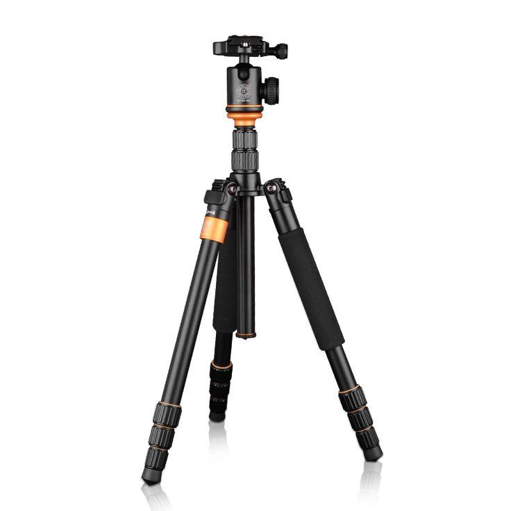 Travel Tripod Aluminum Professional Camera 36cm Tripod with Ball head Monopod Q9S Stand Kit For DSLR //Price: $83.39 & FREE Shipping //     #hashtag1