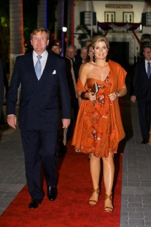 King Willem-Alexander and Queen Maxima of The Netherlands attend a reception at…