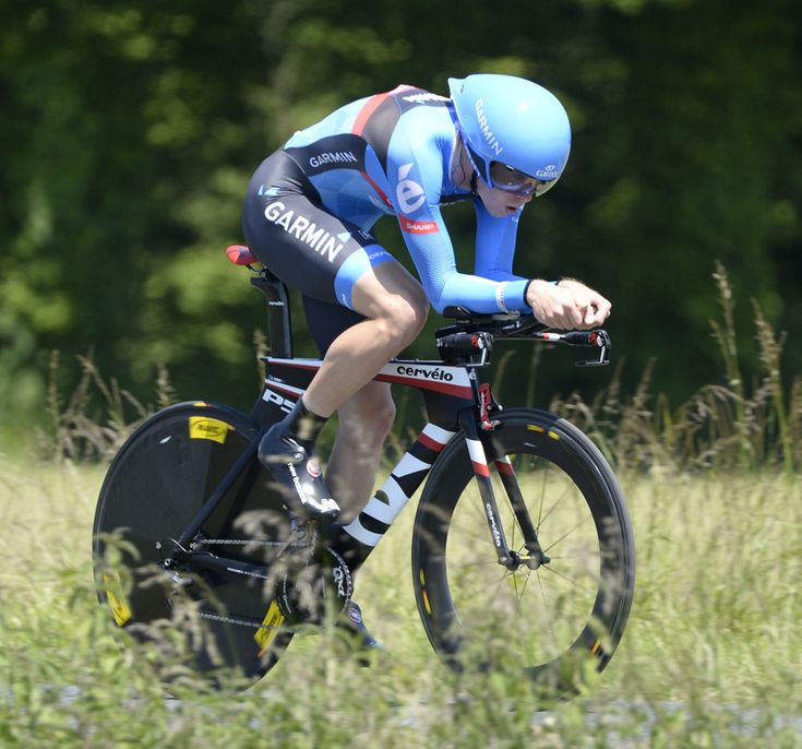 Criterium du Dauphine, stage 4 /by Graham Watson #TT #pro #cycling #2013 #Cervelo