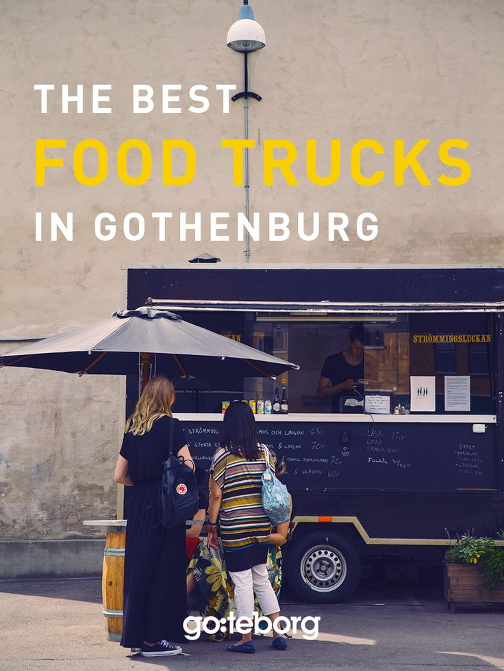 Food trucks and street food in Gothenburg, Sweden. | goteborg.com | Photo: Superstudio D&D