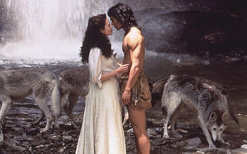 The Jungle Book- you can't really see here, but I loved Lena Headey's clothes and hair
