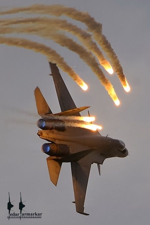 Russian air force fighter jet