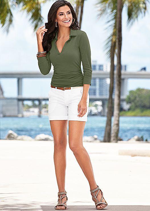 Jean Shorts Womens