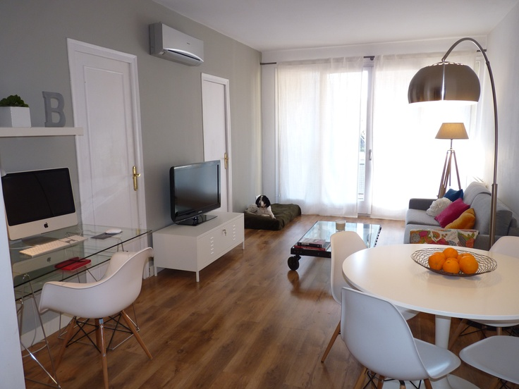 Interiorismo de un estar en Barcelona.