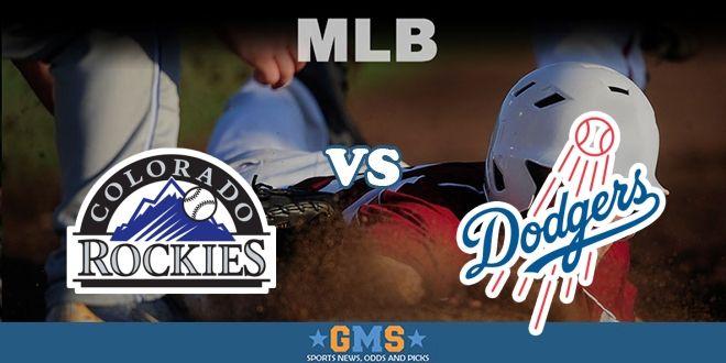 Colorado Rockies Vs Los Angeles Dodgers Live Stream Baseball Live Mlb Dodgers