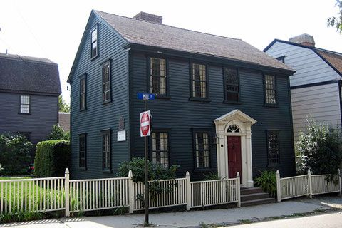 17 best images about gambrel roof homes on pinterest for Gambrel gable