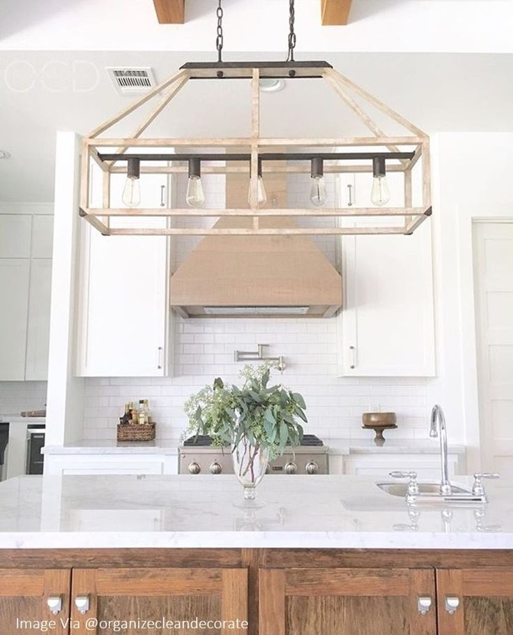 A Modern Bright And Airy Kitchen With Wooden Details: 25+ Best Ideas About Linear Chandelier On Pinterest