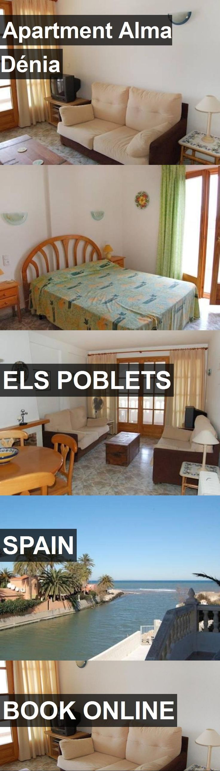 Apartment Alma Dénia in Els Poblets, Spain. For more information, photos, reviews and best prices please follow the link. #Spain #ElsPoblets #travel #vacation #apartment