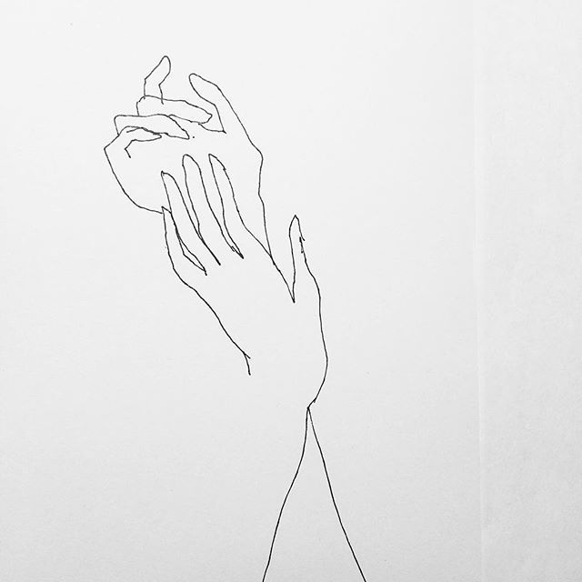 Love will tear us apart - And lack will bring us closer - Hands study #fredericforest #art #fineart #instaart #icu #dance #figure #figurative #figuredrawing #figurativedrawing #postfigurative #academicdrawing #contemporary #contemporarydrawing #line #curve #body #style #beauty #simple #simplicity #minimal #minimalism #minimalart #minimalist #linedrawing