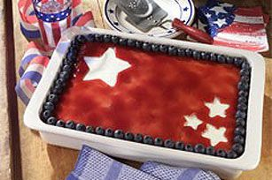 4th Of July Recipes | Fourth of July Cheesecake Recipe - Kraft Recipes