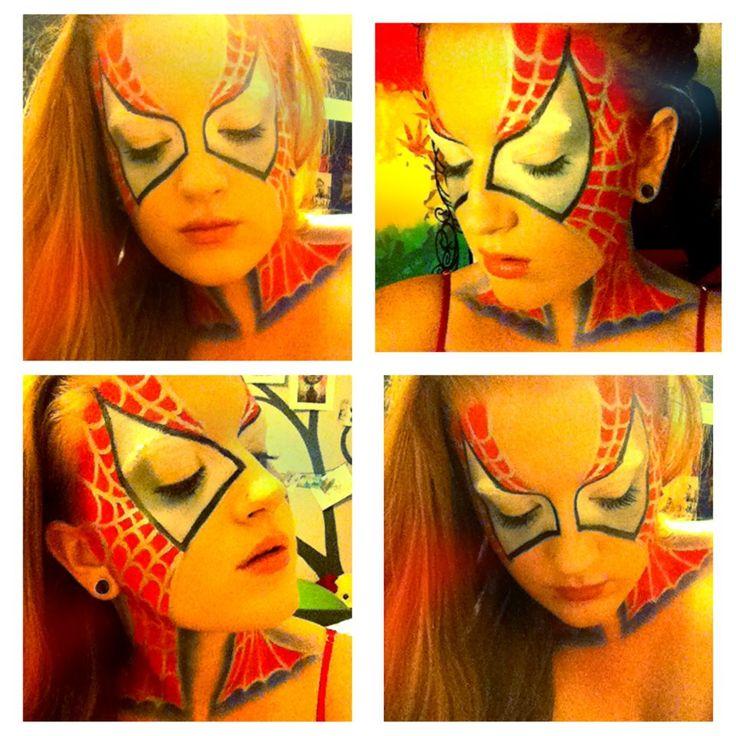 The 25+ best Spiderman makeup ideas on Pinterest | Superhero ...