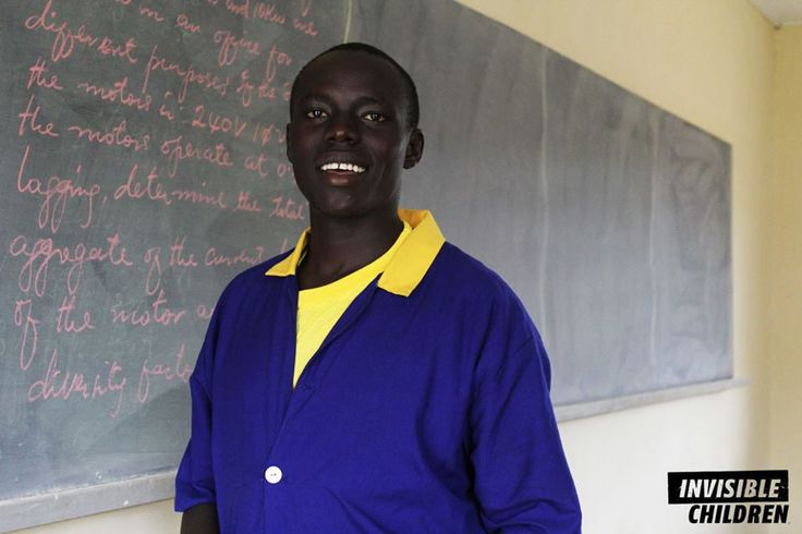 Fred's whole family was forced to relocate in the late 90s after his father was captured and injured by Joseph Kony's group the LRA. Now, he is a student in our Legacy Scholarship Program pursuing training at a vocational school for electrical engineering.  His story: http://inv.fm/6031wGhH