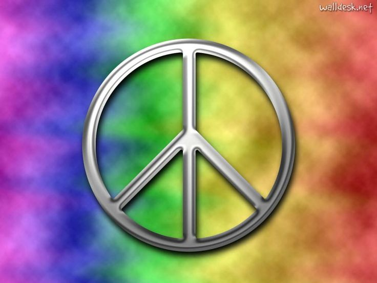 """Hippie movement - 60s -one of the symbols  - """"Make love not war"""" is an anti-war slogan, commonly associated with the American counterculture of the 1960s.  It was used, primarily, by those who were opposed to the Vietnam War, but has been invoked in other anti-war contexts since.    It was also one of the symbols of the Hippie movement"""