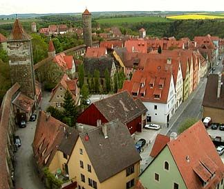 Medieval Walled Town of Rothenburg, Germany