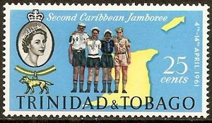 Scouts and Map of Trinidad and Tobago