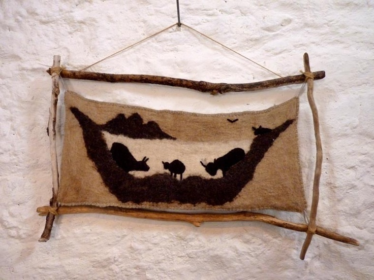 Ardalanish Logo by Andrea of Skye Weavers Photo by Oxfordshire artist Amanda Deadman