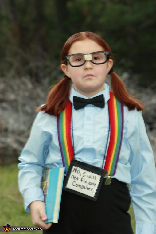 Computer Nerd - Halloween Costume Contest via @costume_works
