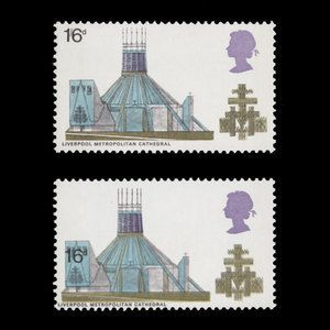 Great Britain 1969 (Variety) 1s 6d Cathedrals