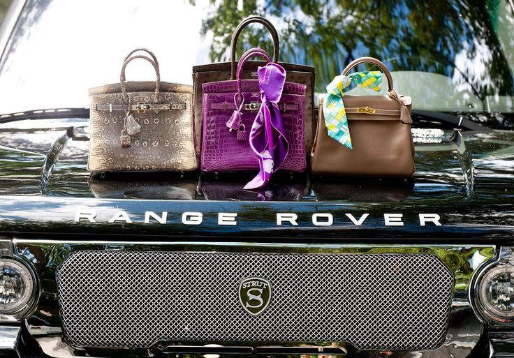 Absolute Opulence.  : Land Rovers, Arm Candy, Happy Birthday, Birkin Bags, Hermes Birkin, Style, Fashion Bags, Sylvia Mantella, Range Rovers