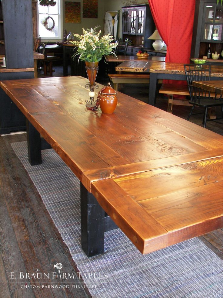 678 best Reclaimed Barn Wood Furniture by E Braun Farm  : 3ffec6f85ba61fec3175c26eb6621f5d hearty meal farm tables from www.pinterest.com size 736 x 981 jpeg 151kB