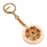 Buy Designer Meenakari Key Chain 109DMKC9 online - JaipurMahal ethnic online store  Rajasthan jewellery  Handicraft   gift shop   Handmade products  Wedding gift online   Jaipur online for India  Rajasthani Jewellery, Crafts