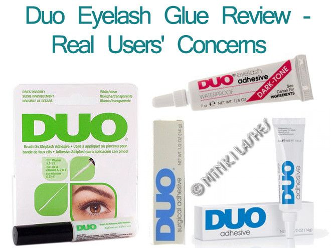 Find out what REAL USERS think about Duo eyelash glue! Read our review of the common concerns Duo glue users present before committing to buying this over-marketed industry leader! From ingredient allergic responses to difficulty in application and false eyelash removal, learn the TRUTH HERE! Click on the article! #eyelashglue #falselashes #eyelashes #makeupreview