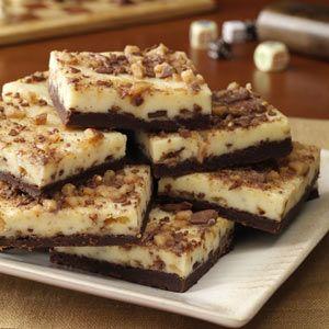 Toffee Cheesecake Bars - 5 PP ea (Healthy Cooking pg 50)