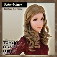 Boho Waves - Cookies & Creme Boho Waves- Light Blonde $47.99 with free shipping within the U.S.