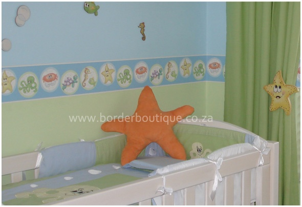 What a stunning combination of colour! This nursery shouts colour and happiness!