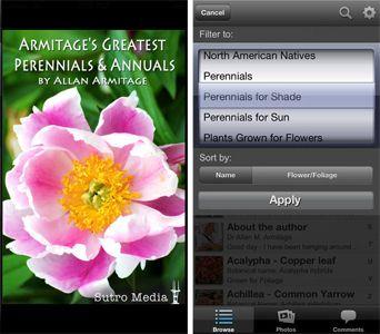 Allan Armitage Greatest Perennials & Annuals Phone App