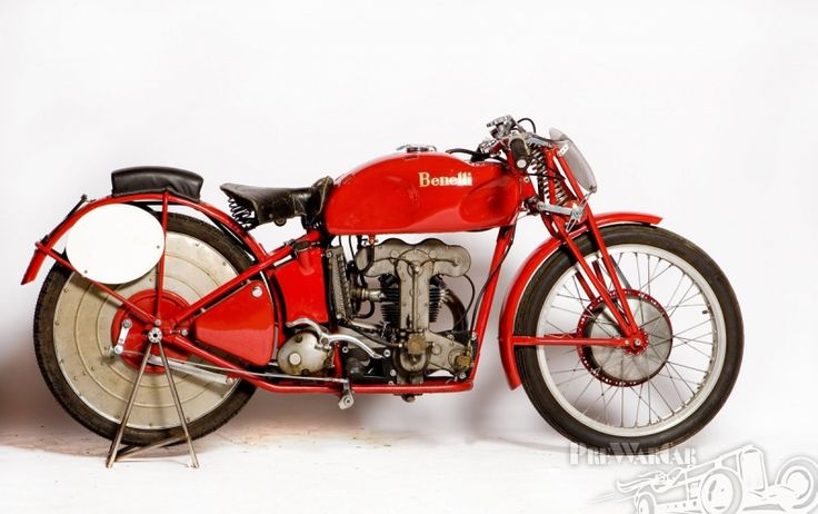 Benelli mc 250 Bialbero 1936 for sale - PreWarCar.  ounded in Pesaro in 1911, the Benelli Garage originally repaired bicycles and motorcycles, but the firm also became increasingly capable of producing many of the spares required for repairs. The first Be