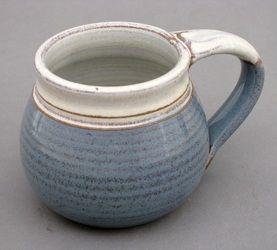 clinton pottery mug