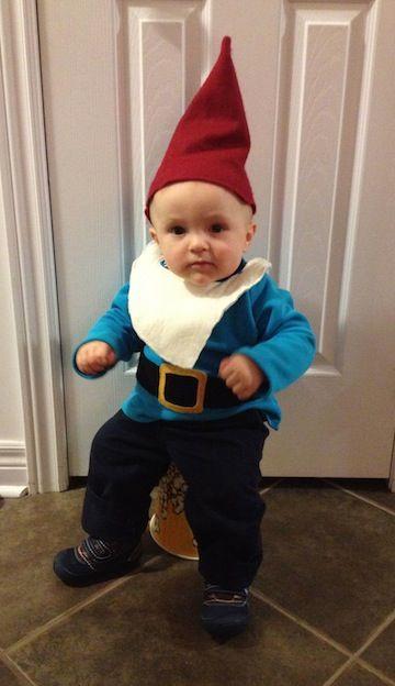 Midget dressed like baby