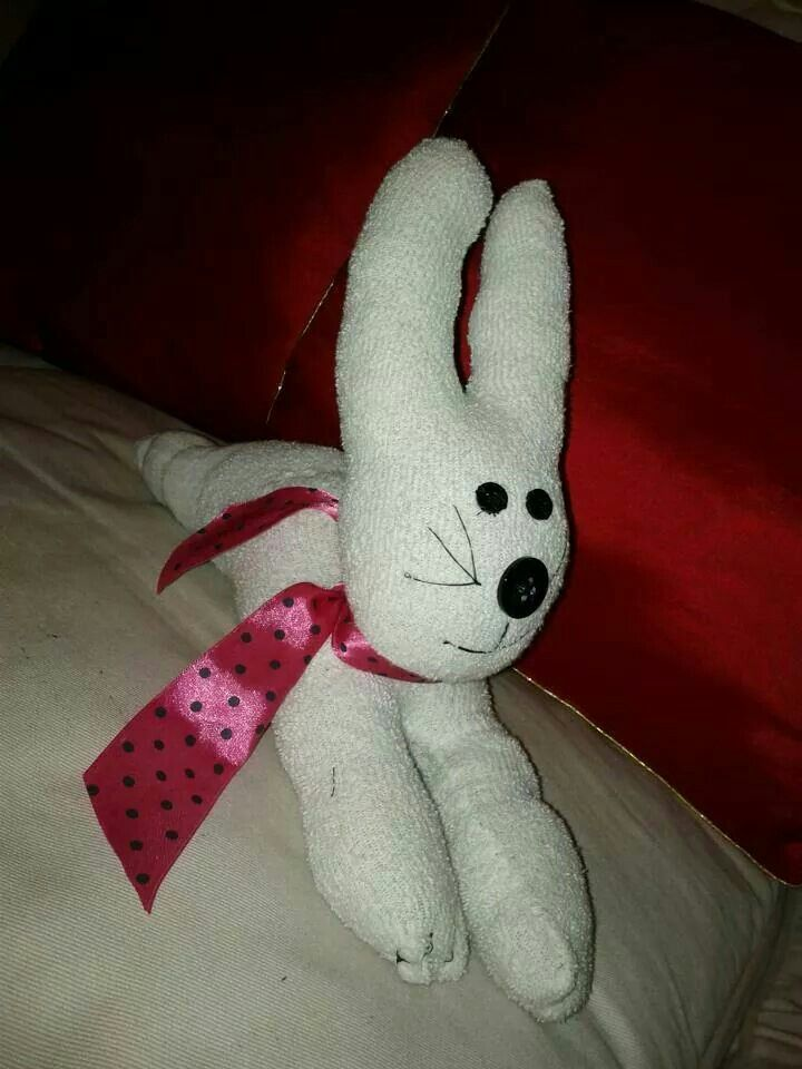 Custom sock doll bunny $15