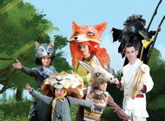 Παιδιά, τι γυρεύει η «Αλεπού Αισωπού» στο Δημοτικό Θέατρο Πειραιά; (έως 9/4) | InfoKids