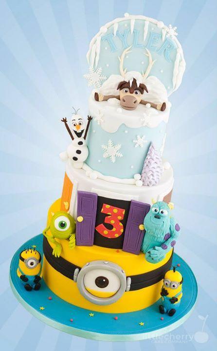 1729 Best Images About Disney Cakes On Pinterest Disney